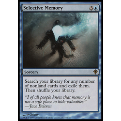 Magic löskort: Worldwake: Selective Memory
