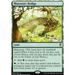 Magic löskort: Duel Decks: Nissa vs Ob Nixilis: Mosswort Bridge