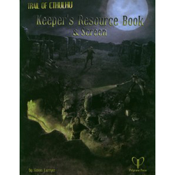 Trail of Cthulhu: Keeper's Resource Book and Screen