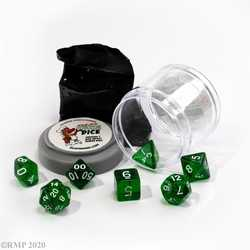 Lucky Dice - Clear Green