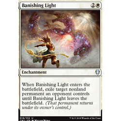 Magic löskort: Commander Anthology 2018: Banishing Light