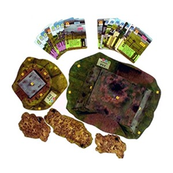 Sergeants Miniature Game: Merville Gun Battery Terrain Pack