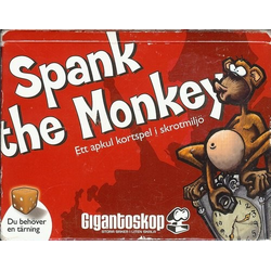 Spank the Monkey inklusive Monkey Business (Eng. Regler)
