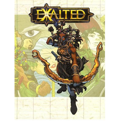 Exalted: Core Rulebook, 1st edition (Begagnad) )