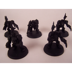 Chaos Space Marines: Terminators (5st, Metall, Konverterade)