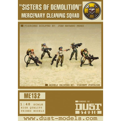 Mercenary Sisters of Demolition / Cleaning Team