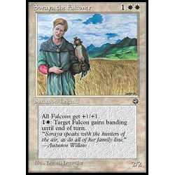 Magic löskort: Homelands: Soraya the Falconer