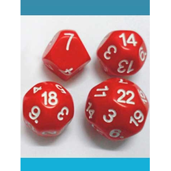 Impact Dice D18 - Red
