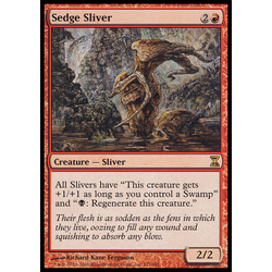 Magic löskort: Time Spiral: Sedge Sliver