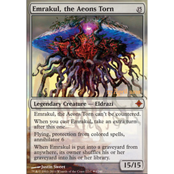 Magic löskort: Rise of the Eldrazi: Emrakul, the Aeons Torn (Prerelasefoil)