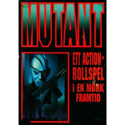 Mutant: Rollspelet (1989), Box