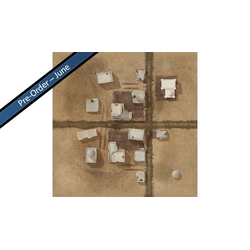 "TANKS: El Alamein Game Mat 36"" x 36"""