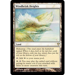 Magic löskort: Modern Event Deck: Windbrisk Heights