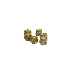 TANKS: British 8th Army Armoured Fist Dice Set (6)