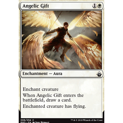 Magic löskort: Battlebond: Angelic Gift