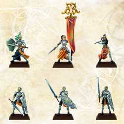Cynwall Elves: Cynwall War-Staff (Metall)