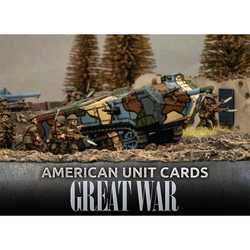 Great War: American Unit Cards