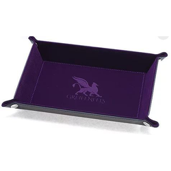 Dice Tray Rectangle Series: Purple
