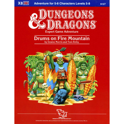 D&D: X8, Drums on Fire Mountain (1984)