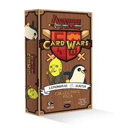 Adventure Time Presents: Card Wars (Lemongrab vs. Gunter)