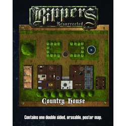 Deadlands: Rippers Resurrected - Country House Map (Savage Worlds)