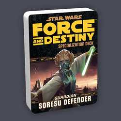 Star Wars: Force and Destiny: Specialization Deck Guardian Soresu Defender