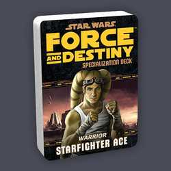 Star Wars: Force and Destiny: Specialization Deck Warrior Starfighter Ace