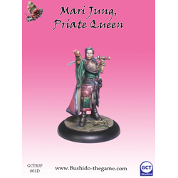 Jung Pirates: Mari Jung (model from the starter set)