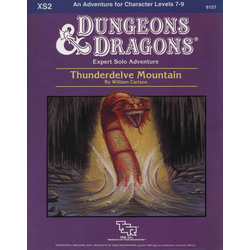 D&D: XS2, Thunderdelve Mountain (1985)