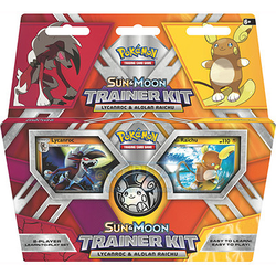 Pokemon TCG: Sun & Moon Trainer Kit Lycanroc & Alolan Raichu