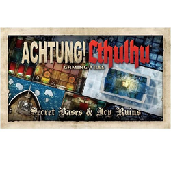 Achtung! Cthulhu: Gaming Tiles - Secret bases & Icy Ruins