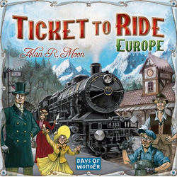 Ticket to Ride Europe (eng. regler)