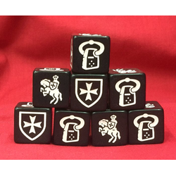 Saga Teutonic Faction Dice (8)