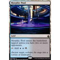 Magic löskort: Battlebond: Morphic Pool