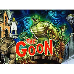 Savage Worlds RPG: The Goon GM Screen