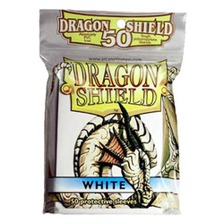 Dragon Shield Sleeves - Standard White (50 ct. in bag)