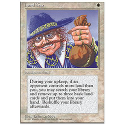 Magic löskort: 4th Edition: Land Tax