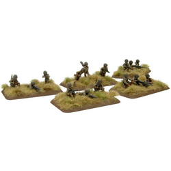 American Armoured Rifle Platoon, Dismounted MGs (Late)