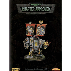 Warhammer 40K Chapter Approved 2003