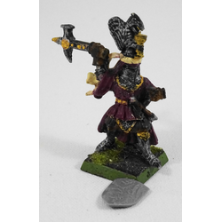 Bretonnia: Grail Knight Hero on Foot  (Metall)
