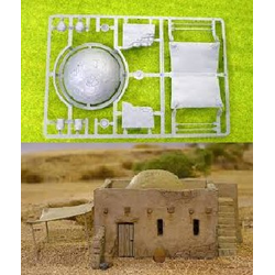 Accessory Frame for Mud Brick House