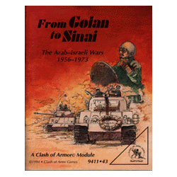 The Clash of Armor: From Golan to Sinai