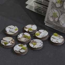 Battle Ready Bases - Temple 32mm Round (8)