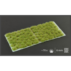 Gamer's Grass - Dry Green Tufts 6mm