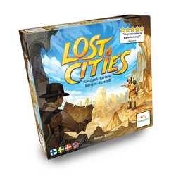 Lost Cities: The Card Game (sv. regler)