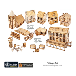 Warlord Scenery: Rural Village Set
