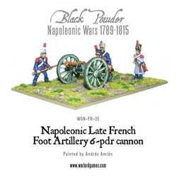 Napoleonic: French 6 pounder Foot Artillery