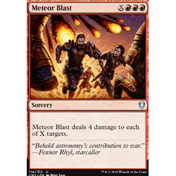 Magic löskort: Commander Anthology 2018: Meteor Blast