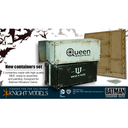 Batman Miniature Game: Containers Set