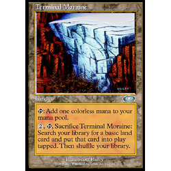Magic löskort: Planeshift: Terminal Moraine